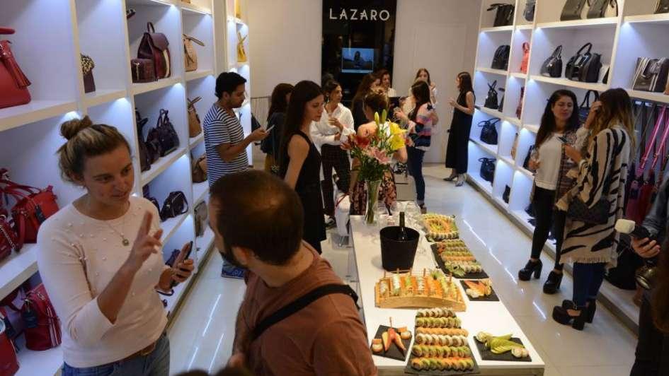 Lázaro presentó su nueva temporada en el Shopping