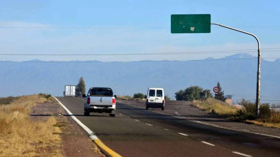 San Martín: reclamos por malas condiciones en salidas de la ruta 7
