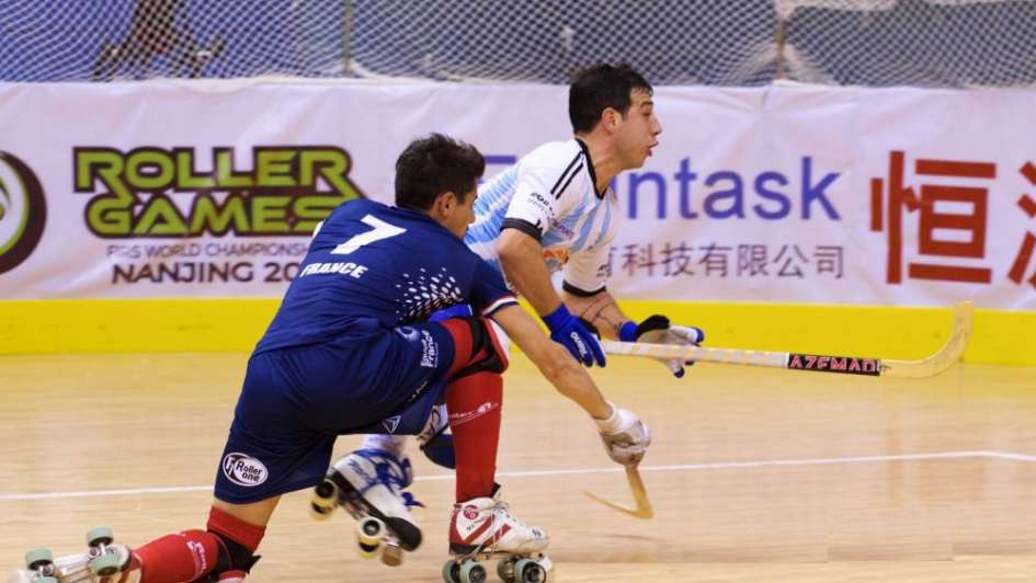 Argentina superó a Francia por la Copa del Mundo de hockey sobre patines de China