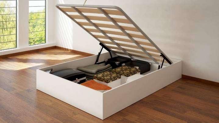 Ideas creativas para usar el espacio debajo de tu cama - Como hacer un canape ...