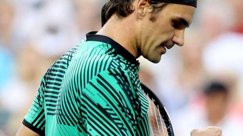 Federer avanzó a semis de Indian Wells por retiro de Kyrgios