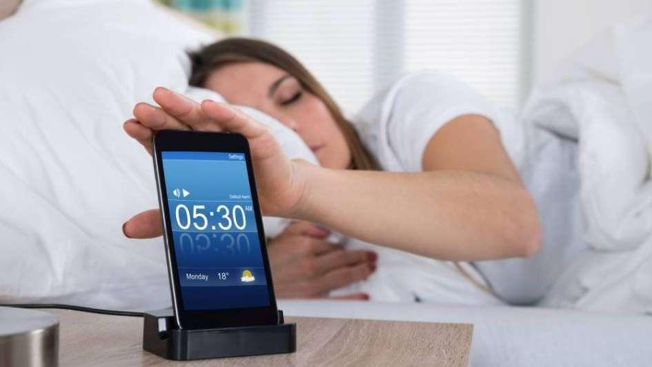 Tu celular puede ser tu mejor amigo desde que te despertás