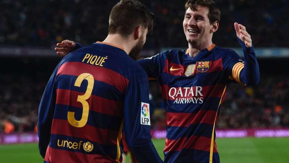 Con un golazo de Messi, Barcelona ganó y sigue puntero en España