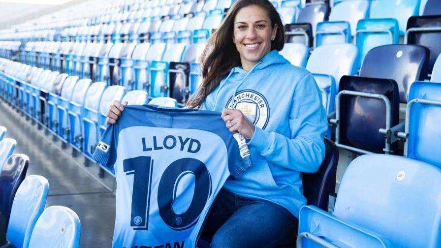 Carli Lloyd, la mejor futbolista del mundo, jugará en el Manchester City