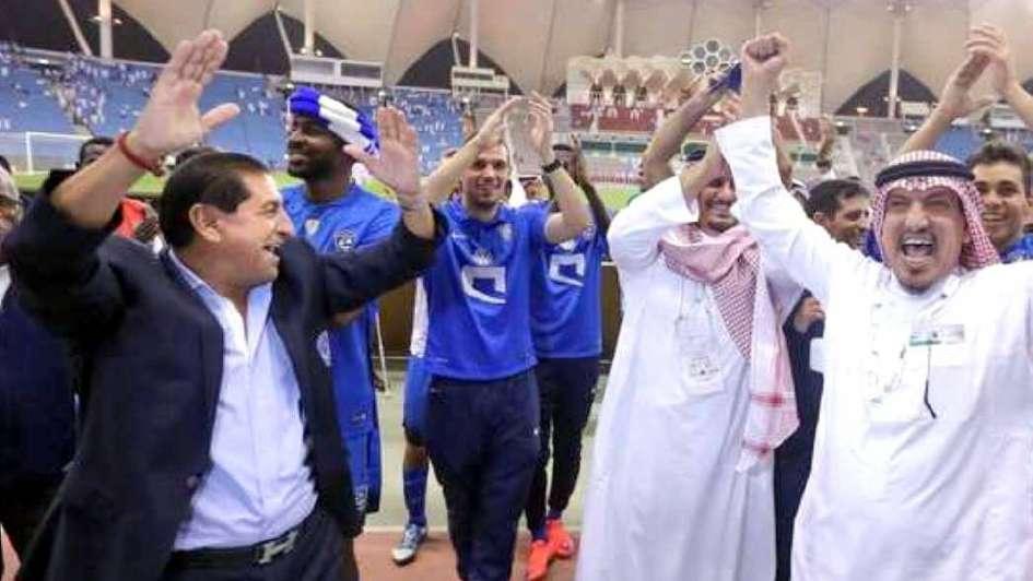 Ramón Díaz campeón en Arabia