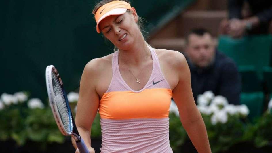 La organización de Roland Garros rechazó una posible invitación a Sharapova