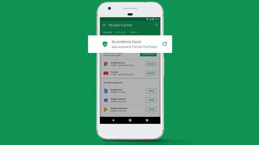 Google lanza su propio antivirus para el sistema operativo Android