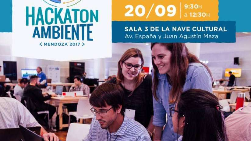 Llega el Hackaton Ambiente a Mendoza pero antes podés participar de la preparación