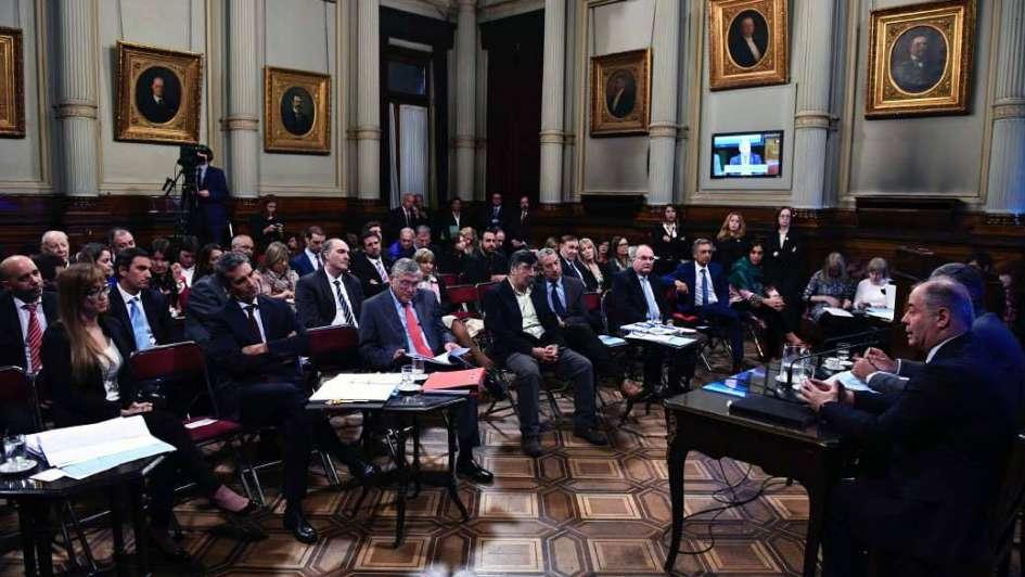 Suspendieron la sesión especial de hoy en el Senado