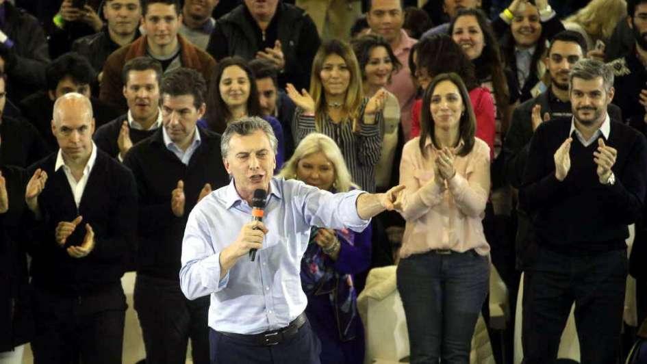 Con pronóstico reservado, primer test para Macri