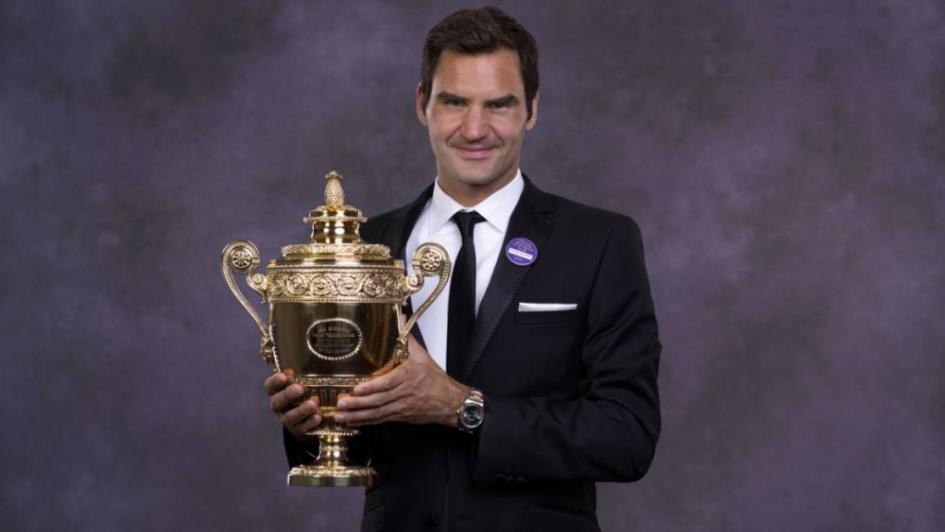 Tras ganar Wimbledon, Federer subió en el ránking y puede ser primero a fin de año