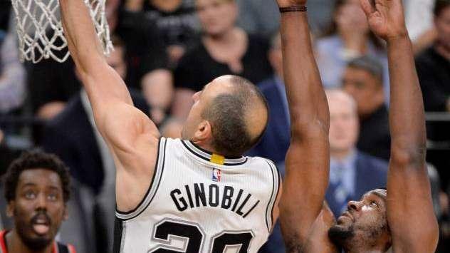 Mirá la insólita jugada de Manu Ginóbili que dejó sin chances a los Spurs