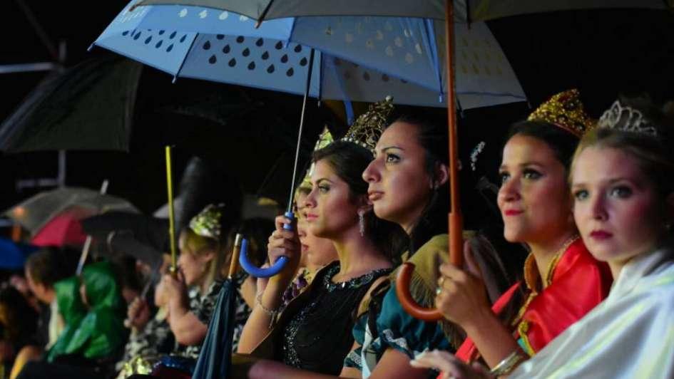 Tunuyán: tras la suspensión de la fiesta por lluvia, hoy eligen a la nueva Reina