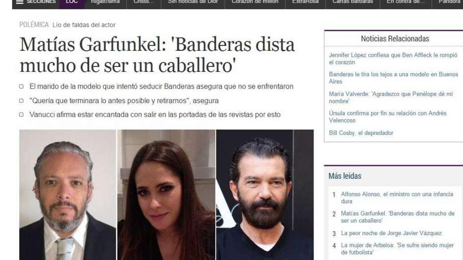 La prensa española sigue prendada con Vannucci y la califica como