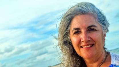 Analía Garcetti. Nueva presidenta del MMIM y una de las invitadas y anfitrionas del show de esta noche.