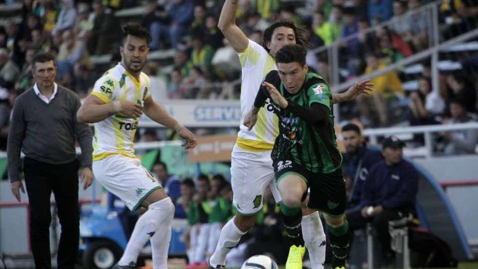 Aldosivi le ganó a San Martín de San Juan, que sumaba cinco fechas sin perder
