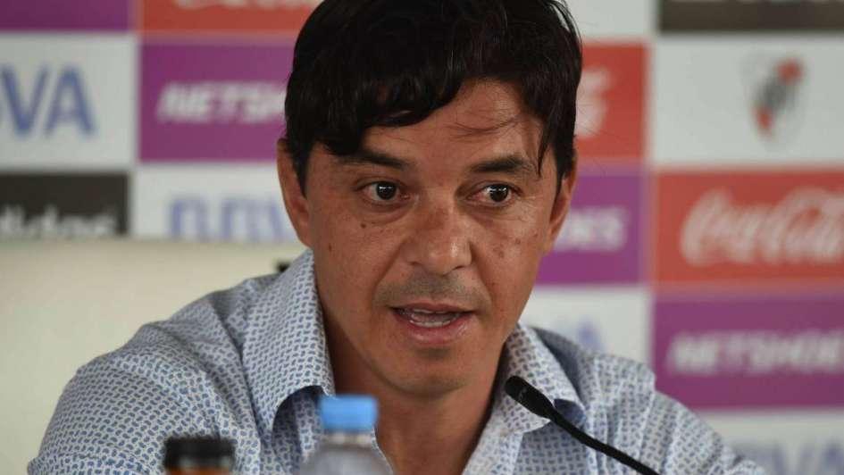 Gallardo le pasó la presión a Boca: