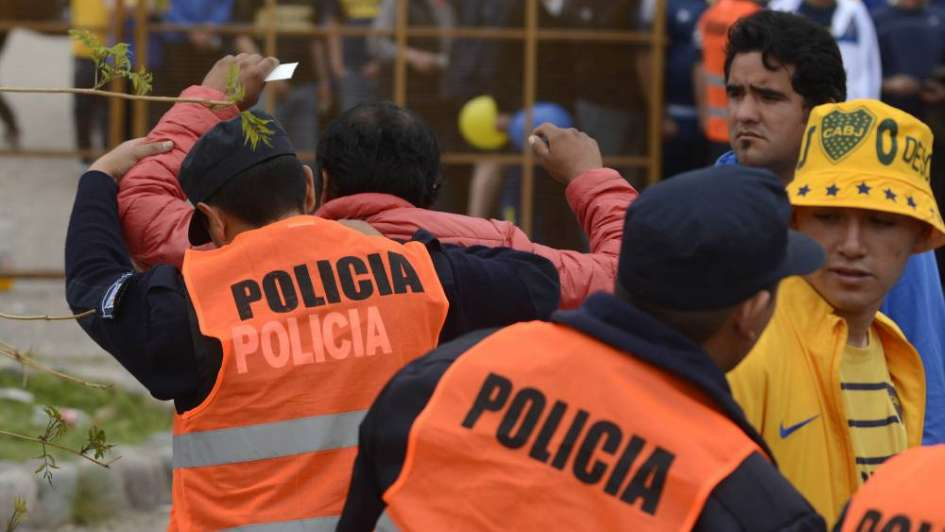 Operativo: 500 policías estarán en el Malvinas para el partido de Boca y Guillermo Brown