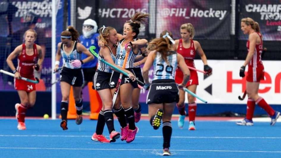 Liga Mundial: Las Leonas vencieron a Chile en el inicio de las semifinales