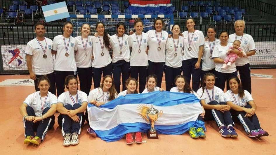 Panamericano de balonmano juvenil: con tres mendocinas, Argentina clasificó al Mundial de Eslovaquia