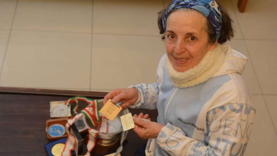 """Mirta Navea: """"Soy una aventurera, bohemia del atletismo"""""""