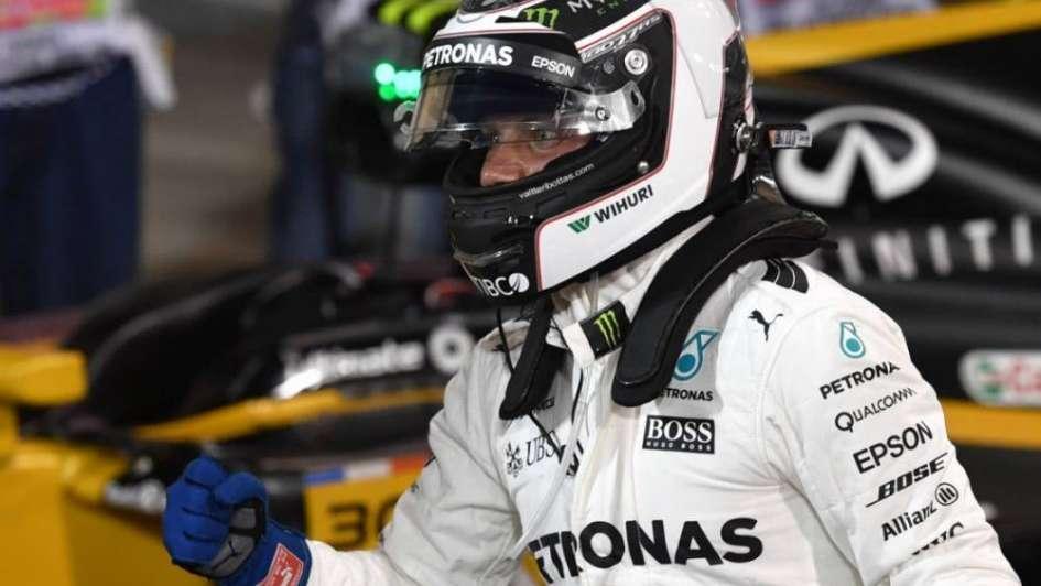 Valtteri Bottas consiguió en Bahréin su primera