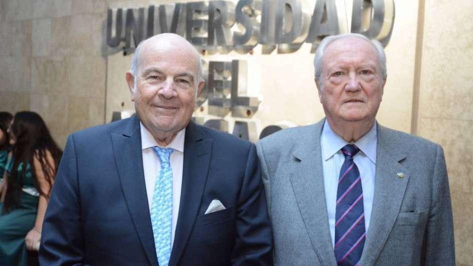 Dos rectores presentaron sus libros