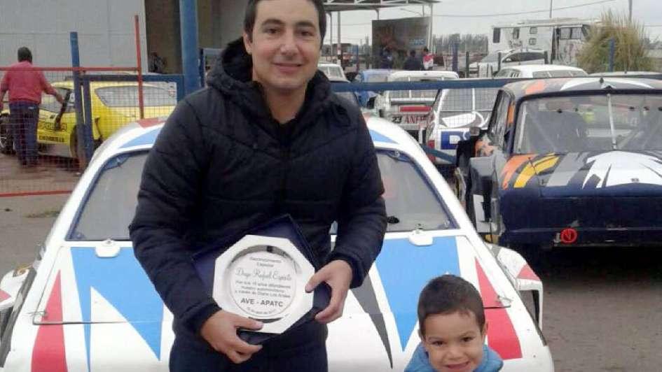 Merecido reconocimiento a Diego Rafael Espósito