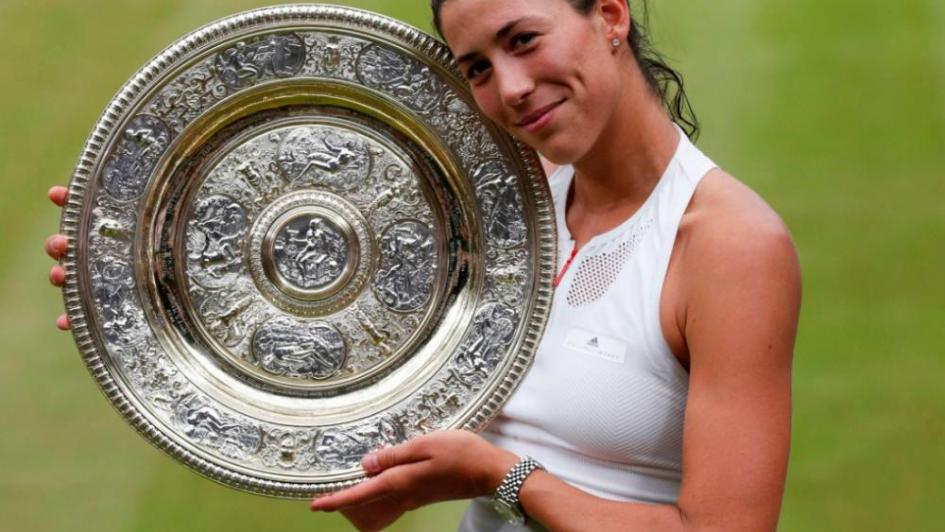 Garbiñe Muguruza venció a Venus Williams y se consagró en Wimbledon