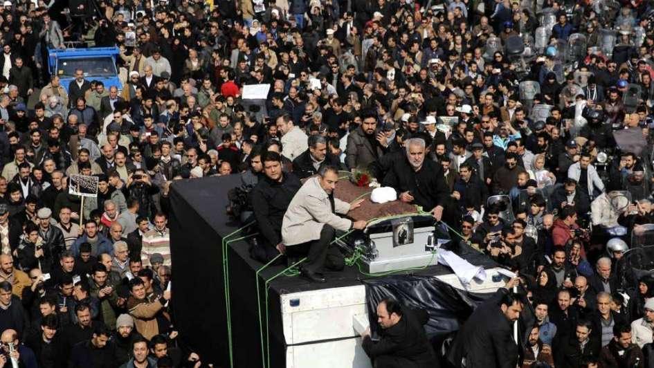 Irán: funeral de Rafsanjani