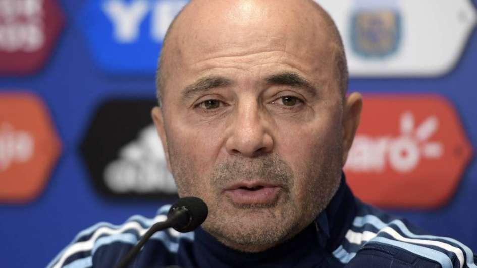 """Jorge Sampaoli: """"es raro que  le pase esto a este equipo"""""""