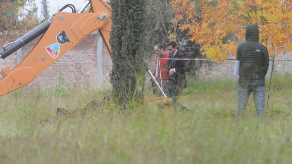 Próvolo: hicieron las excavaciones en el patio y no encontraron más pruebas