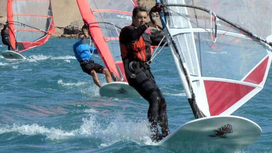 Windsurf: Fabio Angella, le puso suspenso a la coronación