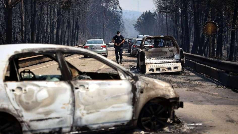 Portugal: incendio forestal provocó más de 60 muertos