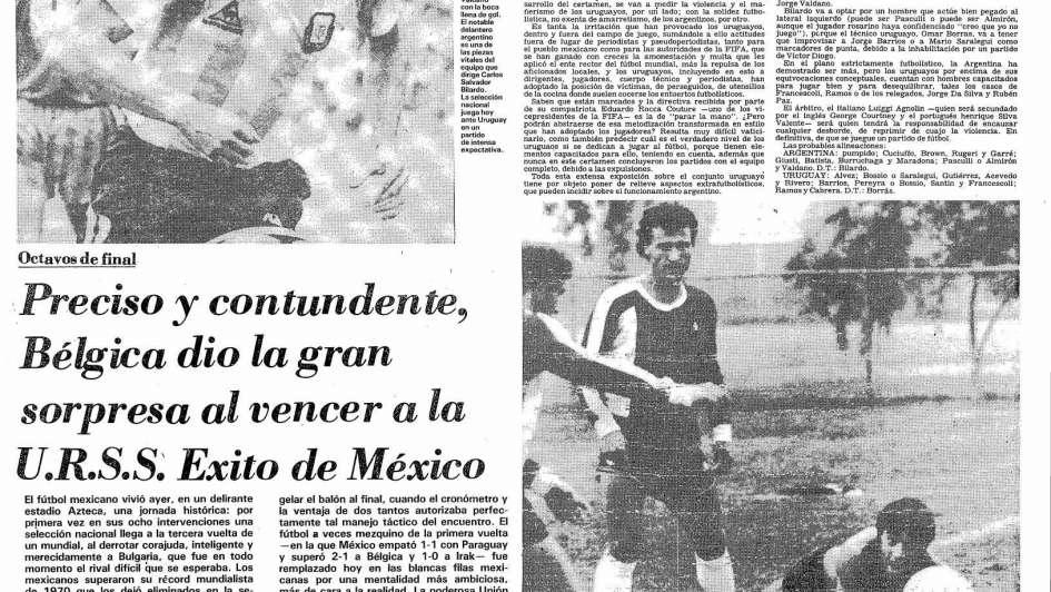 """Portugal y la revelación de """"Saltillo"""""""