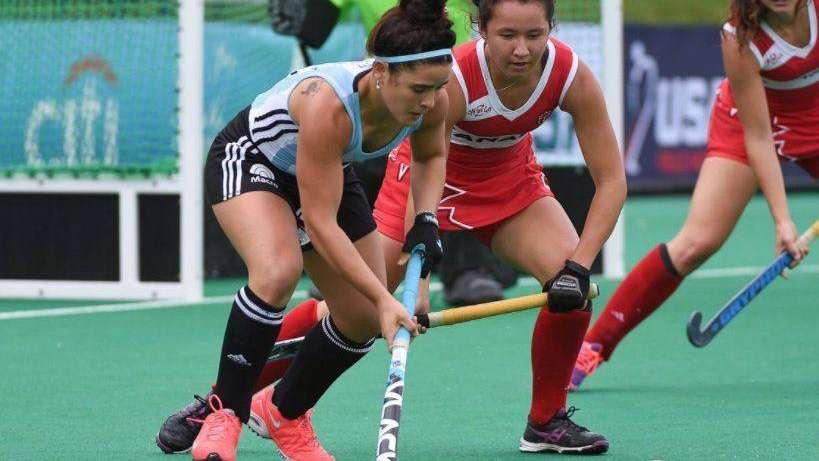 Las Leonas golearon a Canadá y jugarán la final de la Copa Panamericana