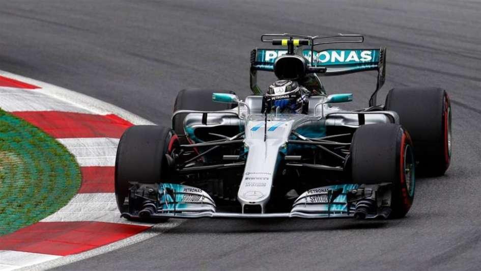 F1: Bottas ganó de punta a punta en Austria y le dio otro festejo a Mercedes
