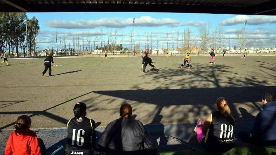 Cancha de hockey en San Rafael