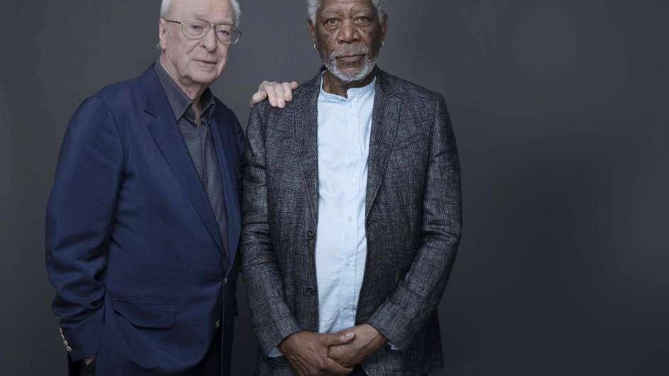 Michael Caine y Morgan Freeman: eterna vigencia de dos leyendas del cine