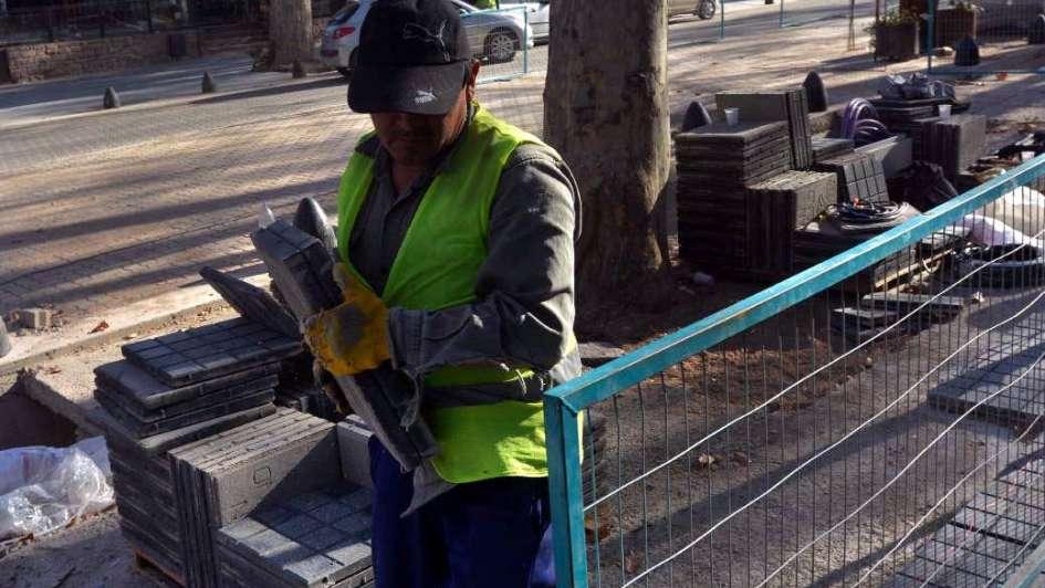 Ilusionados con la renovación de calle Arístides