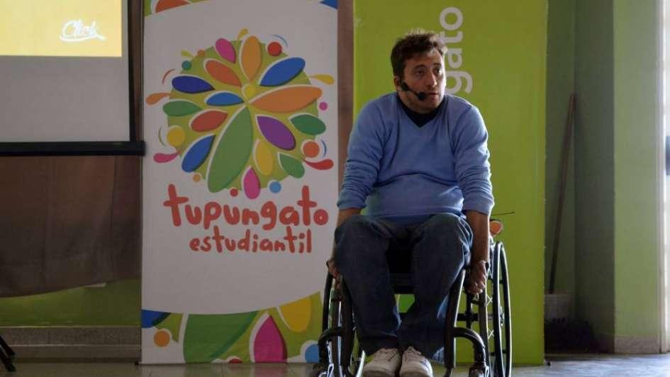 Un accidente casi lo mata     y ahora ofrece charlas en Tupungato