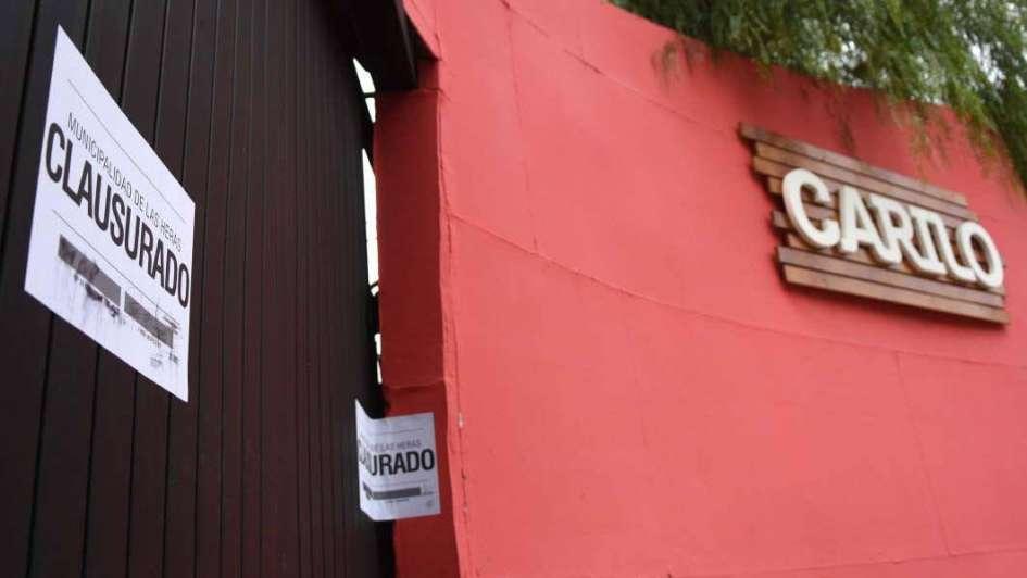 Clausuraron el boliche Cariló en El Challao