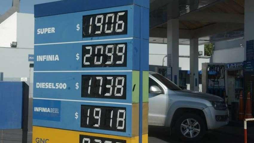 Nafta: las estaciones en Mendoza ya aplican suba del 8% y las Premium superan los $20