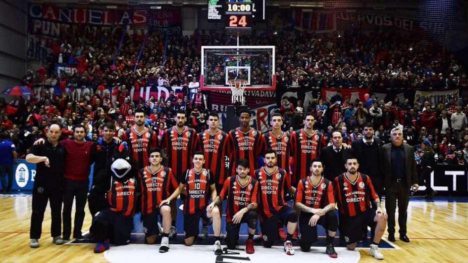 San Lorenzo ganó la Liga Nacional de básquet por segundo año consecutivo