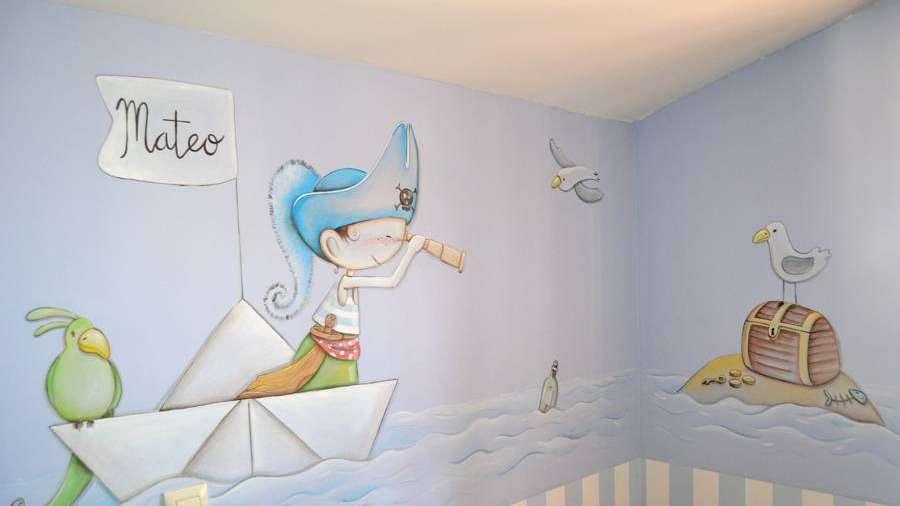 Tips para pintar un mural en la pared - Pintar mural en pared ...