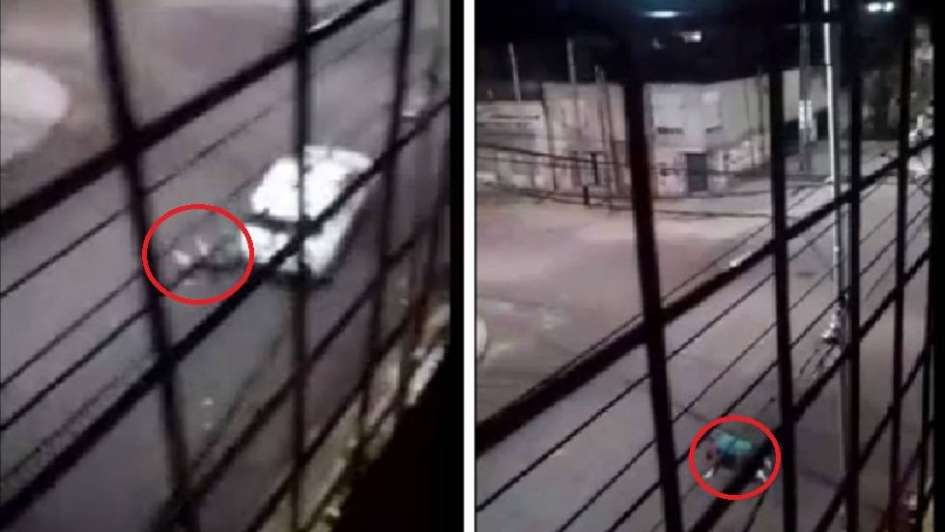 Video: una maestra intentó impedir el robo de su auto y la arrastraron por la calle