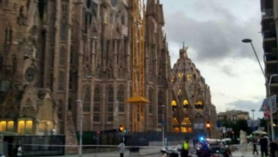 Susto en Barcelona: desalojaron la Sagrada Familia por una operación antiterrorista