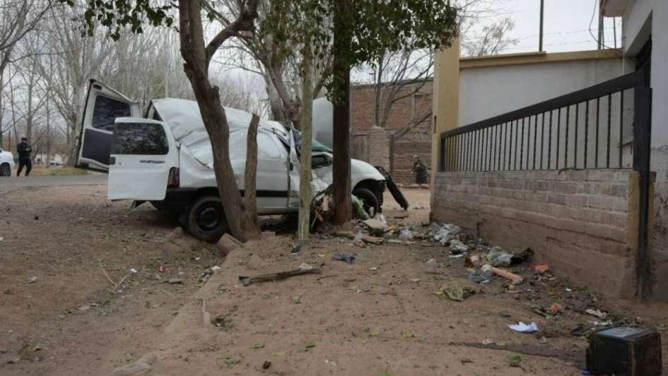 Cayó el ladrón que robó una camioneta y la chocó contra un camión y una casa en Guaymallén