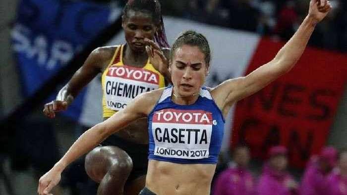 Mundial de Londres: Casetta rompió su récord y cerró undécima