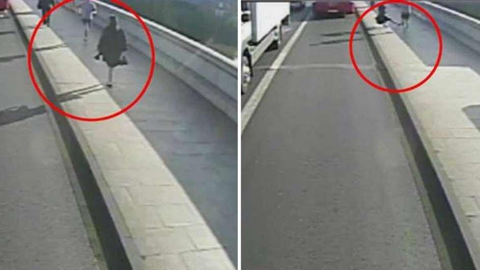 Arrestaron en Londres al hombre que empujó a una mujer a las ruedas de un micro